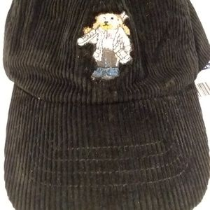 NWT Polo Ralph Lauren Kids Ski Bear Corduroy Hat